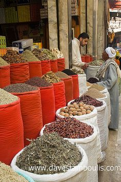 spices, Cairo, Egypt