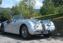 Jaguar XK140 Roadster. Always wished I owned one...