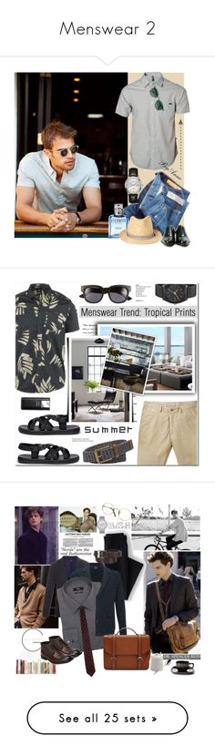"""""""Menswear 2"""" by kittyfantastica ❤ liked on Polyvore featuring RVCA, J.Crew, Calvin Klein, Forever 21, Longines, Cutler and Gross, John Fluevog, men's fashion, menswear and Volcom"""
