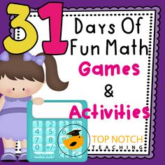 Come and find some new math games and activities to inspire you to try some new ideas in the teaching of math.