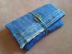 Portatabacco jeans porta cartine porta accendino di robafattamman