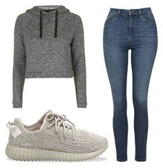 """Untitled #24"" by lowkey101 on Polyvore featuring Topshop and adidas Originals"