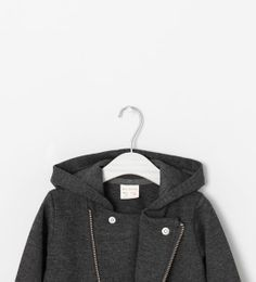 ZARA - KIDS - JACKET WITH HOOD