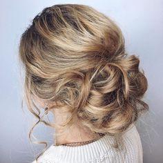 Wedding Hairstyles /Лёгкий пучок 👸🏼😍 Укладка пучок