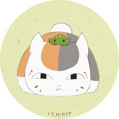 Natsume Takashi, Natsume Yuujinchou, Geek Culture, Studio Ghibli, Neko, Watercolor Art, Geek Stuff, Kawaii, Kids Rugs