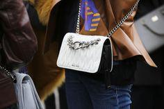 CATCH-a-TREND: Get carried away with the #MiuMiuClub bag this Spring 2016 @MiuMiu  ©AlexandtheWaves  #catchatrend #streetstyle #fahion #bag #miumiu