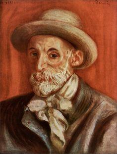 Pierre Auguste Renoir · Self Portrait · 1910 · Unknowns location