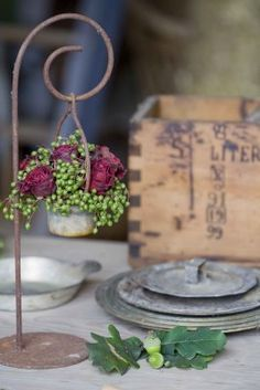 #fairy #garden hanging basket