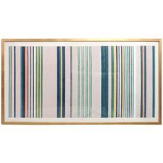 Large Silkscreen by Gene Davis | See more antique and modern Prints at https://www.1stdibs.com/furniture/wall-decorations/prints