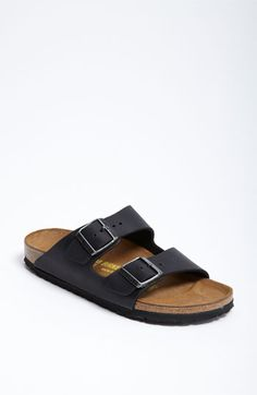 Birkenstock 'Arizona' Oiled Leather Sandal (Women) | Nordstrom @Amanda Hsiao i just dont think i can pull this off.