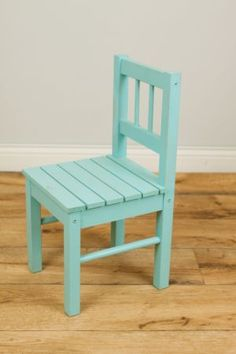 Minneapolis: Light blue kids children's chair photography prop or kids room $20 - http://furnishlyst.com/listings/328944