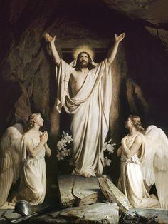 """The Resurrection"" by Carl Heinrich Bloch, 1873"