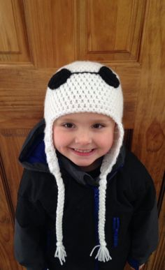 A personal favorite from my Etsy shop https://www.etsy.com/listing/223555410/big-hero-6-inspired-baymax-earflap-hat