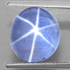 8.08 Cts Natural Sharp 6 Rays Unheated Blue Star Sapphire Fancy Round Cabochon