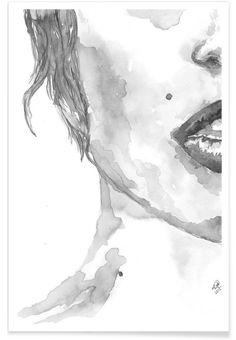 I am Listening - Larissa van der Laan - Premium Poster
