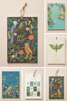 Riffle Paper Co 2018 Calendar
