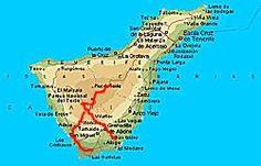 Teneriffa - Karte Tour 7