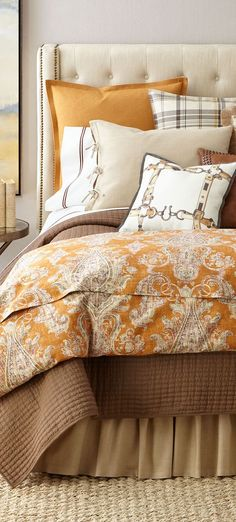 Rustic Fall Bedding