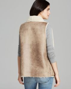 Velvet by Graham & Spencer Vest - Faux Sherpa | Bloomingdales's