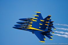Blue Angels Air Show at Navy Base