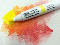 https://www.tintadlaplastykow.pl/pigment-marker Winsor & Newton Pigment Marker to nowe podejście do markera. Dwie końcówki, ergonomiczna asymetryczna obudowa. Intensywne, niezwykle odporne na światło kolory, tworzone z najlepszych pigmentów. Mieszanie, nakładanie kolorów, płynne cieniowanie, jest tak proste jak przy malowaniu farbami. 118 kolorów, blender oraz innowacyjny biały blender.