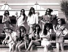 Girls' Generation photobook in Las Vegas. Sooyoung Snsd, Kim Hyoyeon, South Korean Girls, Korean Girl Groups, Girls' Generation Tts, Taeyeon Jessica, Kwon Yuri, Korean Artist, Photo Book