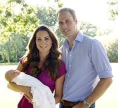 His Royal Cuteness! Prince William and Kate Middleton have just released new photos with their baby Prince George!