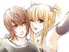 Raito Yagami e Misa Amane