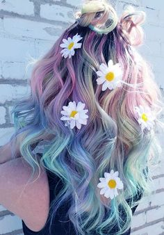 90+ Best Hair Colors Of this Summer 2018 Unicorn