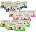 Re-Body 21 Count Protein Bars 3 Flavor Variety Pack — QVC.com