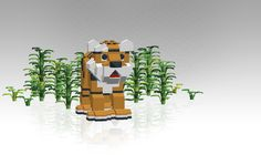 Tiger!    I love LEGO! These little bricks are the perfect toys for creative people, analytical people and people of any age.    Your only limit is your imagination and the number of bricks you have. Or you could download this program and have an infinite number of building blocks.    LEGO Digital Designer is an official software program from LEGO that includes 763 types of bricks. You can use a preset building guide or let your brain run wild in Free Build mode.