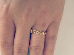 the love ring #jewelry #fashion