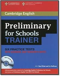 Cambridge English KET for Schools Trainer Six Practice Tests and Teacher Notes Pet Test, Cambridge English, Exams Tips, Teacher Notes, Schools, Education, Easy, Books, Libros
