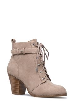 00af94966ba DALLY CONE HEEL BOOTIE - ShoeDazzle Womens Boots On Sale