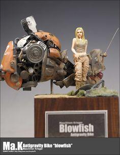 "[Build] Antigravity Bike ""blowfish""  http://blog.naver.com/kunyho78/220801677411"