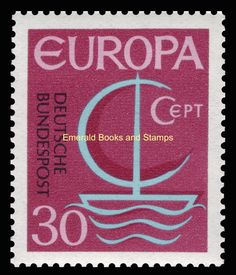EBS Germany 1966 Europa CEPT Michel 519-520 MNH** in Stamps, Europe, Germany & Colonies | eBay