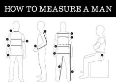 Measuring Dudes for sewing - Thread Theory