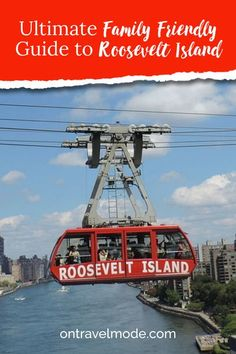 Head to Roosevelt Island, NYC if want to escape to escape the hustle and bustle from NYC. Check out this guide and learn everything you need to before heading out.