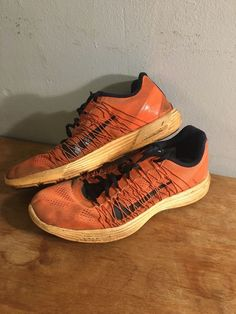 525206b132fe Extra Off Coupon So Cheap Nike LunaRacer 3 Men s Size Flywire Running Lunar  Racer Shoes Orange Black