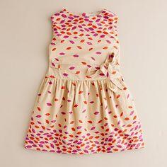pucker up dress=sew cute!