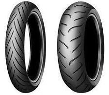 PAIR 120/70ZR17 58W TL F & 190/50ZR17 75W TL R  DUNLOP Sportmax Roadsmart 2 New Tyres, Rings For Men, Pairs, Men Rings