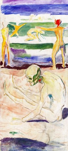 Old Man (Edvard Munch - )