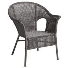 Casbah Gray Stacking Chair