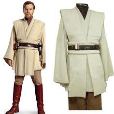 - Star Wars Cosplay - Star Wars Cosplay news - - Costume Jedi, Costume Star Wars, Diy Costumes, Cosplay Costumes, Cosplay Ideas, Halloween Costumes, Jedi Tunic, Jedi Robe, Obi Wan Kenobi Costume