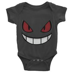 Don't you just love to clothe your baby in this Pokemon Gengar onesie?