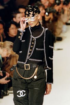 The Evolution of Chanel's Ready-To-Wear Runway Shows - HarpersBAZAAR.com #chanel