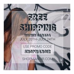 FREE SHIPPING & OUR SUMMER SALE CONTINUES!! •  Good news! Our summer sale is still on and we are offering you free shipping on all orders within Canada![Simply use promo code SHOPMANOIR when placing your order] ☺️ Hurry up ladies, this special offer ends Friday night! •  #shopmanoir #summersale #freeshipping #promo #discounts #summerdeals #montreal #onlinesale