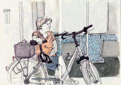 S-Bahn voller Radfahrer | by KatrinMerle