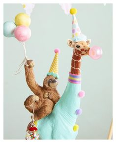 Your place to buy and sell all things handmade Party Animals, Animal Party, Giraffe Cakes, Safari Cakes, Giraffe Party, Animal Birthday, 2nd Birthday, Birthday Parties, Birthday Photos