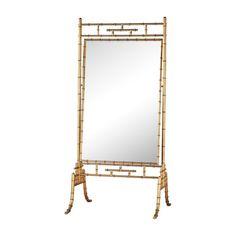 Dimond Home Brunei Antique Gold Metal and Glass Standing Mirror Gold Floor Mirror, Metal Mirror, Mirror Art, Floor Mirrors, Parisian Chic Decor, Antique Gold Mirror, Dressing Table Mirror, Standing Mirror, Mirrored Furniture